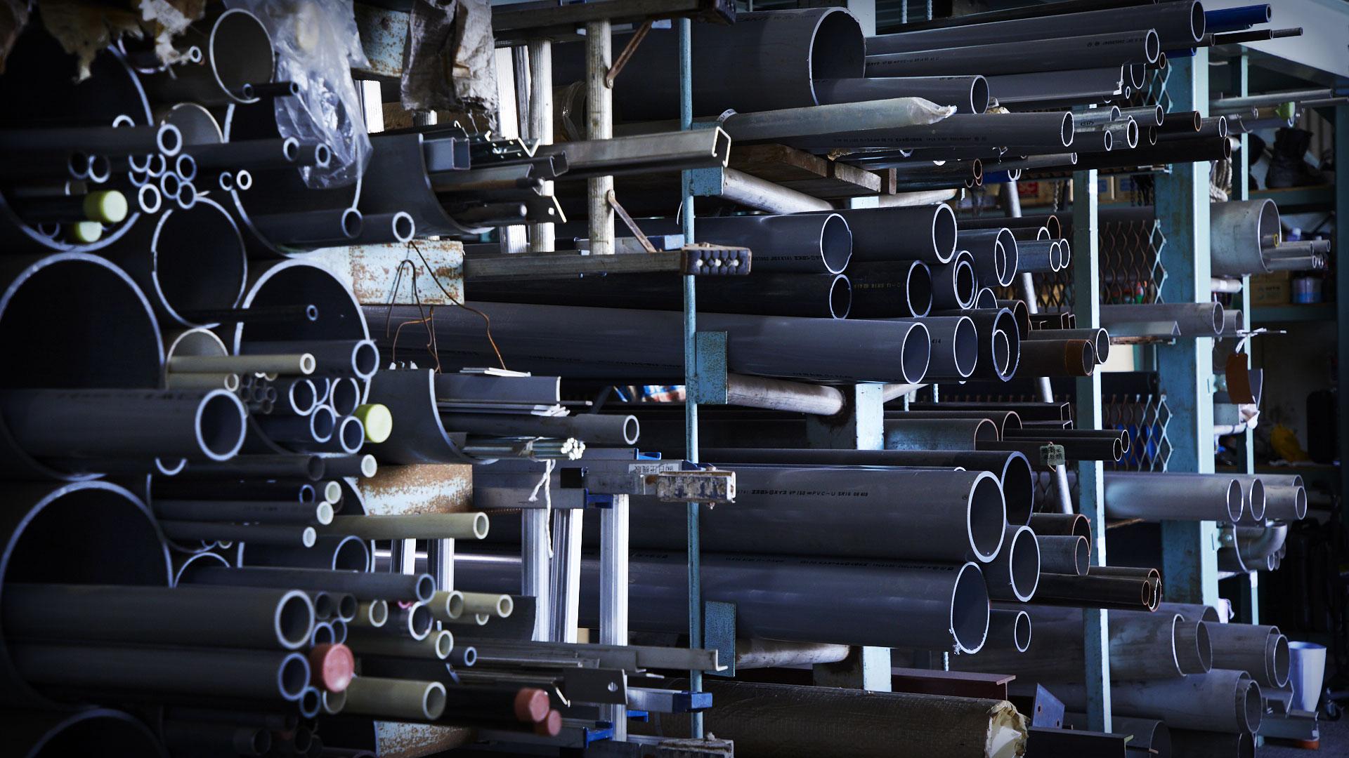 岡山の機械器具設置・管工事・電気工事なら日圧機販